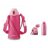 ZOJIRUSHI S/S Vacuum Bottle [SD-AD08 PA] - Botol Minum